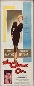 """Movie Posters:Film Noir, The Come On (Allied Artists, 1956). Insert (14"""" X 36""""). Film Noir.. ..."""