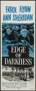 "Movie Posters:War, Edge of Darkness (Dominant, R-1956). Insert (14"" X 36""). War.. ..."