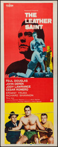 """Movie Posters:Sports, The Leather Saint (Paramount, 1956). Insert (14"""" X 36""""). Sports.. ..."""
