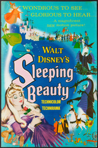 "Sleeping Beauty (Buena Vista, 1959). Uncut Pressbook (32 Pages, 12"" X 18""). Animation"