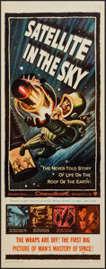 "Movie Posters:Science Fiction, Satellite in the Sky (Warner Brothers, 1956). Insert (14"" X 36"").Science Fiction.. ..."