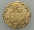 Colombia, Colombia: Charles IV gold 2 Escudos 1798 NR-JJ,...