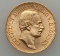 German States:Saxony, German States: Saxony. Friedrich August III gold 20 Mark 1905-E,...