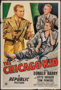 "Movie Posters:Crime, The Chicago Kid (Republic, 1945). One Sheet (27"" X 41""). Crime....."