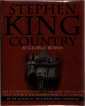 Books:Horror & Supernatural, [Stephen King]. George Beahm. SIGNED / LIMITED. Stephen KingCountry. Running Press, 1999. Number 107 of 500 n...