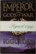 Books:Mystery & Detective Fiction, Conn Iggulden. SIGNED. Emperor. The Gods of War.HarperCollins, 2006. First edition, first printing. Signed by...