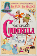 "Movie Posters:Animation, Cinderella (Buena Vista, R-1973). One Sheet (27"" X 41"").Animation.. ..."