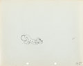 Animation Art:Production Drawing, Pluto Production Drawing Animation Art (Disney, 1930s)....