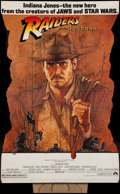 "Movie Posters:Adventure, Raiders of the Lost Ark (Paramount, 1981). Standee (37.5"" X 57.5).Adventure.. ..."