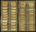 Small Size:Legal Tender Notes, Fr. 1500 $1 1928 Legal Tender Notes. Twenty-Four Examples. Good or Better.. ... (Total: 24 notes)