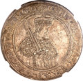 German States:Saxony, German States: Saxony. Johan Georg I and August Vicariat Taler 1612,...