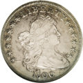 """Early Dollars: , 1800 $1 VF35 NGC. B-1, BB-181, R.4. In 1950, Bolender stated, """"Myrecords over a period of 40..."""
