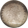 Early Dollars: , 1800 $1 Wide Date, Low 8 AU53 NGC. B-10, BB-190, R.3. Minimallymarked and showing some strik...