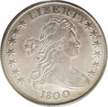 Early Dollars: , 1800 $1 AMERICAI AU53 PCGS. B-19, BB-192, R.2. Substantial glowingluster penetrates the rich...