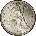 Seated Dollars: , 1859-O $1 MS64 PCGS. Ex: Legend Collection. Sharply defined withradiant luster and a fully b...