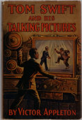 Books:Children's Books, Victor Appleton. Tom Swift and His Talking Pictures. Grosset& Dunlap, 1928. Publisher's binding and dust jacket...