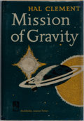 Books:Science Fiction & Fantasy, Hal Clement. SIGNED. Mission of Gravity. Doubleday, 1954. First edition. Signed by Clement with both pen name ...