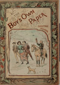 Books:Literature Pre-1900, [Arthur Conan Doyle]. The Boy's Own Paper Special ChristmasNumber for 1885. London: [The Boy's Own Paper], [188...