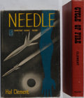 Books:Science Fiction & Fantasy, Hal Clement. INSCRIBED. Two Inscribed Books. Needle is a first edition with review slip from Doubleday. Both books inscr... (Total: 2 Items)