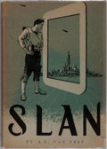 Books:Science Fiction & Fantasy, A. E. van Vogt. Slan. Arkham House, 1946. First edition, first printing. Publisher's cloth with light shelfwear....