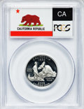 Proof Statehood Quarters, 2005-S 25C Set of Five Quarters Silver PR70 Deep Cameo PCGS. ThisSet Includes: California, Minnesota, Oregon, Kansas and W...(Total: 5 coins)