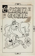 Original Comic Art:Covers, Ray Dirgo Magilla Gorilla #3 Cover Original Art (Charlton,1971)....