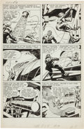 "Original Comic Art:Panel Pages, Jack Kirby and Joe Simon Adventures of the Fly #1 ""Come IntoMy Parlor"" Page 3 Original Art (Archie, 1959)...."