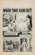"Original Comic Art:Complete Story, Doug Wildey Thrill-O-Rama #1 Complete 5-Page Story ""WhenTime Ran Out!"" Original Art (Harvey, 1965).... (Total: 5 OriginalArt)"