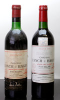 Red Bordeaux, Chateau Lynch Bages. Pauillac. 1970 ts, hbsl, ltl, lccBottle (1). 1984 lbsl, lscl Bottle (1). ... (Total: 2 Btls. )