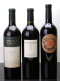 Domestic Cabernet Sauvignon/Meritage, Kenefick Ranch Cabernet Sauvignon . 2002 lnl Bottle (1). Neiman Red. 2003 Caldwell Vineyard Bottle (1). ... (Total: 3 Btls. )