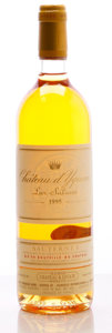 White Bordeaux, Chateau d'Yquem 1995 . Sauternes. lbsl. Bottle (1). ...(Total: 1 Btl. )