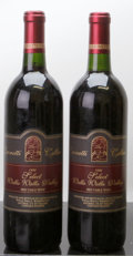 Domestic Misc. Red, Leonetti Cellars Red 1992 . Walla Walla Select. 1lnl. Bottle(2). ... (Total: 2 Btls. )
