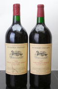Domestic Merlot/Cabernet Franc, Duckhorn Merlot. 1996 Howell Mountain scl Magnum (1). 1997Three Palms Vineyard lscl Magnum (1). ... (Total: 2 Mags. )