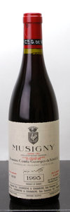 Red Burgundy, Musigny 1995 . Vieilles Vignes, Comte de Vogue . #00725.Bottle (1). ... (Total: 1 Btl. )