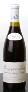 Red Burgundy, Bourgogne Rouge 1990 . Maison Leroy . lbsl, lnl. Bottle (1).... (Total: 1 Btl. )