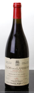 Red Burgundy, Clos des Lambrays 1989 . F. & L. Saier . bsl, ltl.Bottle (1). ... (Total: 1 Btl. )