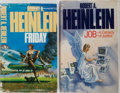 Books:Science Fiction & Fantasy, Robert Heinlein. Two Uncorrected Proofs of Novels, One an Editor'sCopy. JOB: A Comedy of Justice is extensively notated...(Total: 2 Items)