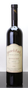Australia, Greenock Creek Shiraz 1996 . Roennfeldt Road. Bottle (1). ... (Total: 1 Btl. )
