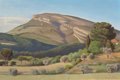 Fine Art - Painting, American:Modern  (1900 1949)  , EDWARD BRIGHT BRUCE (American, 1879-1943). Landscape ofProvence, circa 1929. Oil on canvas on cradled panel. 21 x31-1/...