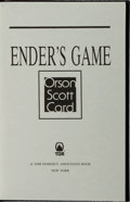 Books:Science Fiction & Fantasy, Orson Scott Card. SIGNED/LIMITED. Ender's Game. TOR, 1992.Revised edition, limited to 225 numbered and signed cop...