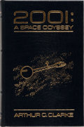 Books:Science Fiction & Fantasy, Arthur C. Clarke. SIGNED. 2001: A Space Odyssey. Easton Press, ca. 1986. Signed bookplate laid in. Publisher's l...