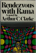 Books:Science Fiction & Fantasy, Arthur C. Clarke. SIGNED. Rendezvous with Rama. Harcourt Brace Jovanovich, 1973. First edition, first printing. Si...