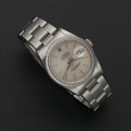 Timepieces:Wristwatch, Rolex Ref. 16200 Gent's Steel Oyster Perpetual Datejust, circa 1990. ...