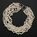 Estate Jewelry:Pearls, Designer Paloma Picasso Freshwater Pearl Necklace. ...