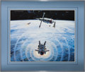 "Explorers:Space Exploration, Robert T. McCall Signed Limited Edition ""Spaceflight"" FramedLithograph. ..."