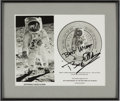 Autographs:Celebrities, Buzz Aldrin Signed B&W Photo. ...