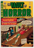 Golden Age (1938-1955):Horror, Vault of Horror #12 (EC, 1950) Condition: VG....