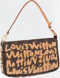 Luxury Accessories:Bags, Louis Vuitton by Stephen Sprouse Monogram Canvas Graffiti PochetteBag. ...