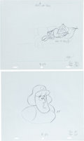 Animation Art:Production Drawing, Roger Ramjet Production Drawing Group Animation Art(1965).... (Total: 2 Original Art)