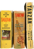 Big Little Book:Miscellaneous, Big Little Book Tarzan Related Group (Whitman, 1930s) Condition:Average FN/VF.... (Total: 3 Comic Books)